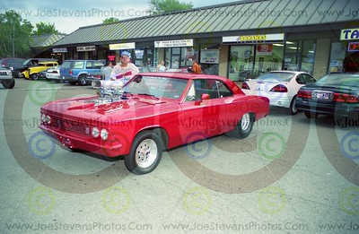 2001 Woodward Dream Cruise Photos - 1966 Chevelle w/blower - Worthy
