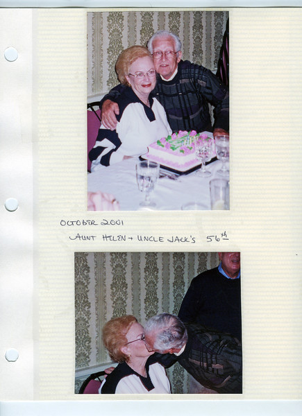 10 Jack and Helen Segal's 56th Anniversary