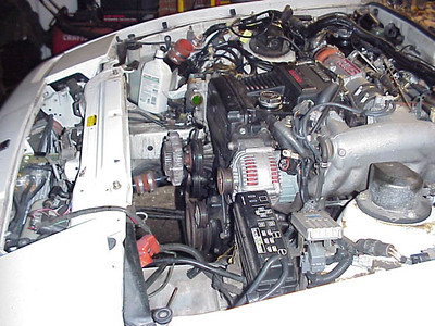 Vacuous engine bay
