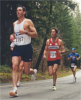 2001 Alberni 10K - Brad Potentier, Sandy Stewart and John Loewen