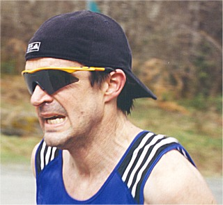 2001 Alberni 10K - Hard-nosed Phil Nicholls