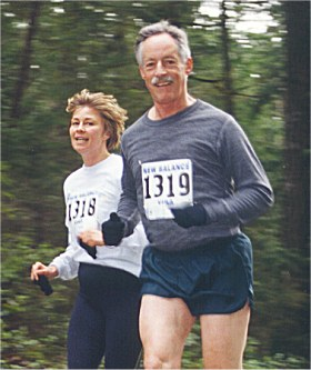 2001 Alberni 10K - Brenda Phillips and John McKay