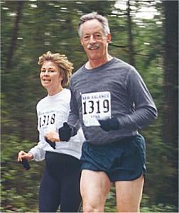 2001 Alberni 10K - Brenda Phillips and John McKay