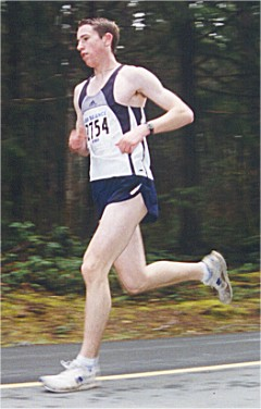 2001 Alberni 10K - Mark Nelson runs a 10K PR