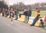 2001 Bazan Bay 8K - Steve Osaduik streaks to the finish - sub-24