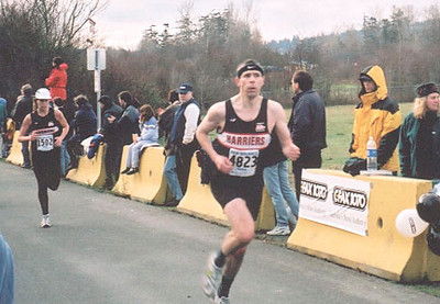2001 Bazan Bay 8K - Bob Flindell and Sandi Begg