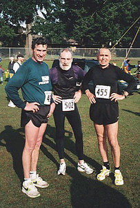 2001 Cedar 12K - Harlow, Crouch and Hollingshead pose