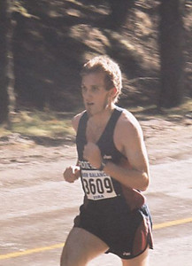 2001 Hatley Castle 8K - Men's winner Steve Osaduik