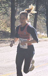 2001 Hatley Castle 8K - Women's winner Barbora Brych