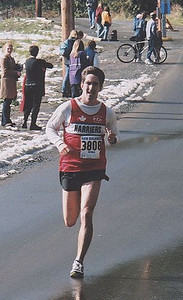 2001 Hatley Castle 8K - Alex Coffin finishing 3rd