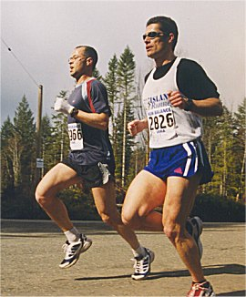 2001 Merville 15K - Bernard O'Ree and Cliff Kennell