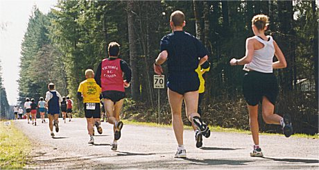 2001 Merville 15K - A long and winding road