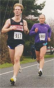 2001 Pioneer 8K - Steve Shelford's first race in his new singlet