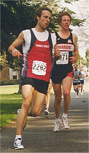 2001 UVic 5K - Rumon Carter and Rob Reid