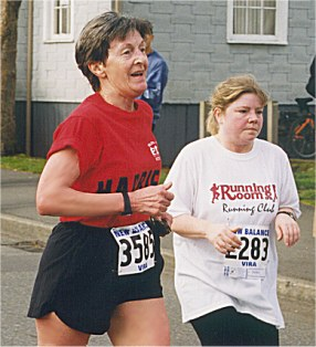 2001 UVic 5K - Merell Harlow