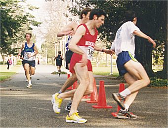 2001 UVic 5K - Paddy McCluskey, Trevor O'Brien and Jim Finlayson