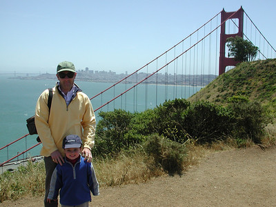 At The Golden Gate Bridge With Noel