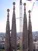 View of the Western spires, from one of the towers