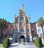 Hospital de la Santa Creu i de Sant Pau, started by Domènech i Montaner in 1902