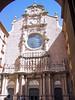 Baroque façade of the basilica which houses the Black Virgin