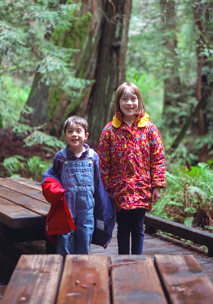 Benjamin and Isabel at Muir Woods