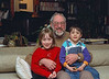 Isabel, Grandpa Edmund, and Benjamin (Feb 2001, Berkeley)