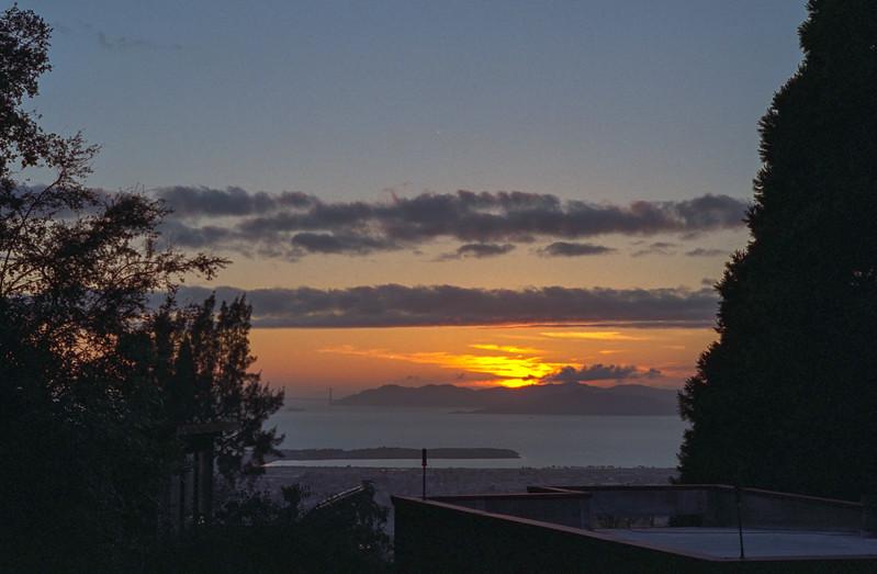 Sunset from Berkeley
