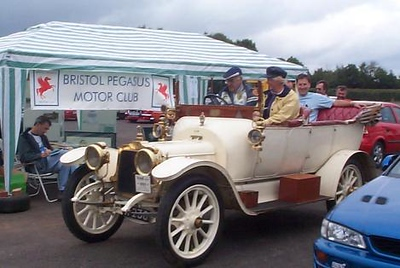 Mike Manning, 1910 Talbot 4AB (A238)