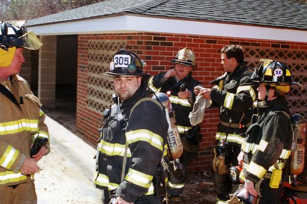 April 2001 Clinton Liberty St Apartment Fire