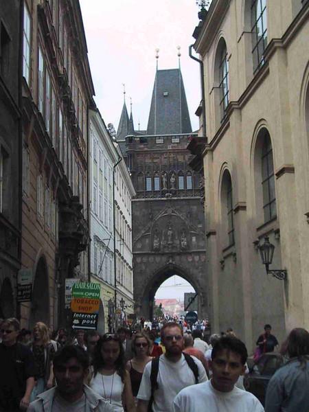 Praha June 2001