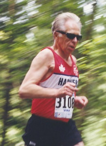 2001 Sooke River 10K - Ken improved from 53:18 at Mill Bay to 51:48 at Sooke