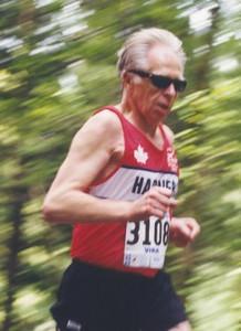 2001 Sooke River 10K - Ken improved from 53:18 at Mill Bay to 51:48 at Sooke