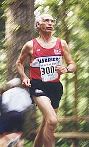 2001 Sooke River 10K - Maurice Tarrant
