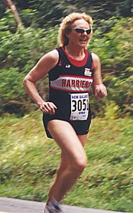 2001 Sooke River 10K - Susan Norrington