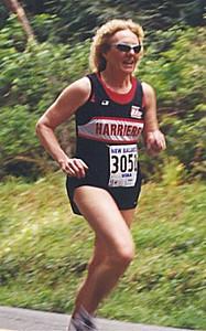 2001 Sooke River 10K - Susan Norrington
