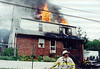 "Haledon 8-30-01. : Haledon 2nd alarm at 82 Avenue ""B"" on 8-30-01.  Photos by Chris Tompkins"