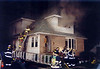 Hasbrouck Heights 11-3-01 : Hasbrouck Heights 3rd alarm at 116 Williams Ave. on 11-3-01.