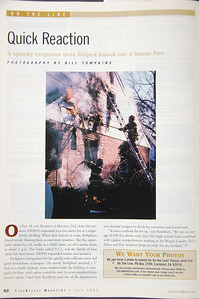 Fire Rescue Magazine - July 2001