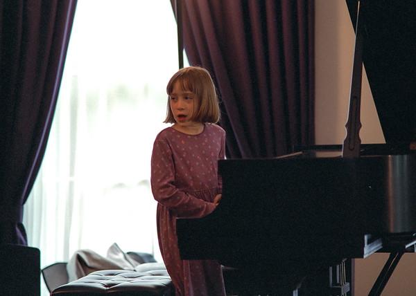 Isabel's Piano Recital, June 2001