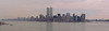 Manhattan panorama, from Ellis Island