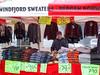 Norwegian sweaters in the market