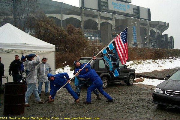 Panthers vs. Patriots January 6th 2002