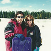 Jeff and I at the snow in March of 2001 at Pine Crest
