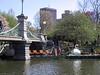 Swan Pond at Public Garden