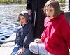 Benjamin and Isabel at the Swan Pond