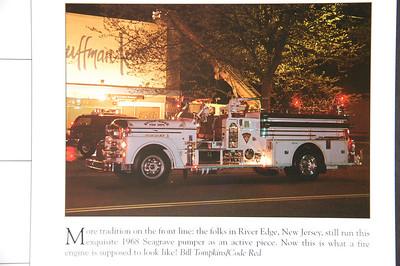 Fire Trucks in Action Calendar - 2003