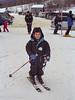 Benjamin skiing at Black Mountain