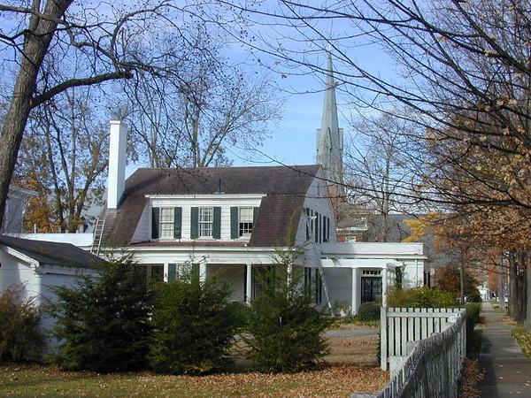 Interesting pre-civil war homes in old town Huntsville.