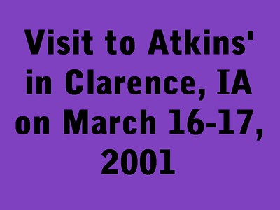 Visit Atkins in Clarence, IA