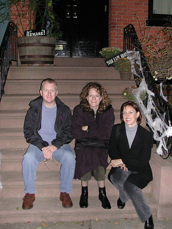 Visiting Aiden and Polly in New York November 2001